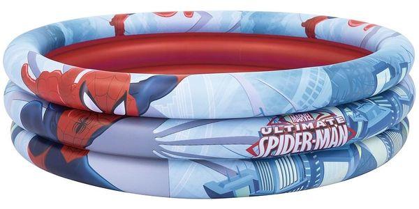Bestway Nafukovací bazének Spiderman, pr. 122 cm, v. 30 cm