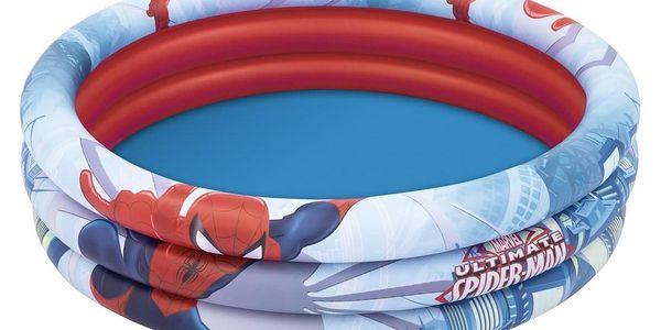 Bestway Nafukovací bazének Spiderman, pr. 122 cm, v. 30 cm3
