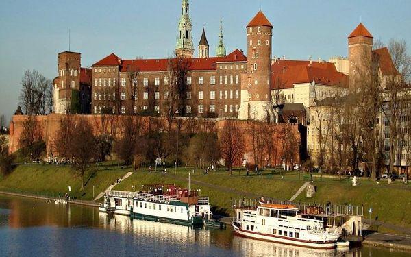 Skvělý pobyt v romantickém Krakově 4 dny / 3 noci, 2 os., snídaně2
