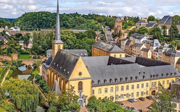 Krásný víkendový pobyt v historickém Lucemburku 4 dny / 3 noci, 2 os., snídaně