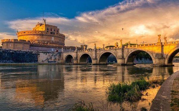 Řím - romantický hotel s top polohou nedaleko Vatikánu 4 dny / 3 noci, 2 os., snídaně