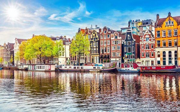 Jedinečný Amsterdam a ubytování v top hotelu 4 dny / 3 noci, 2 os., snídaně
