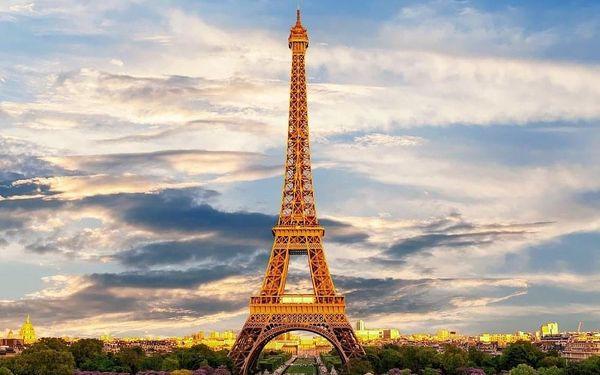 Paříž: nádherný víkend pro 2 plný romantiky 4 dny / 3 noci, 2 os., snídaně