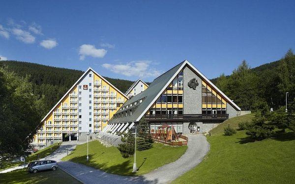 Luxusní wellness pobyt s bazénem a saunou ve Špindlu + POLOPENZE 4 dny / 3 noci, 2 os., polopenze