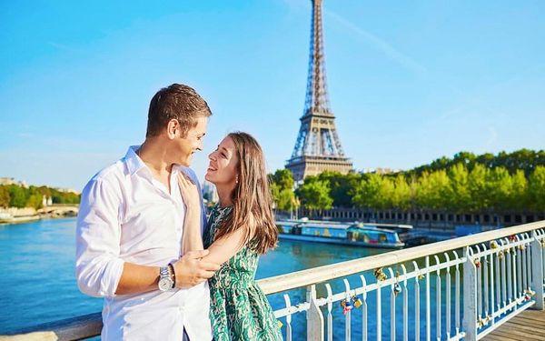 Kouzelný víkend v Paříži v hotelu se skvělou polohou 4 dny / 3 noci, 2 os., snídaně
