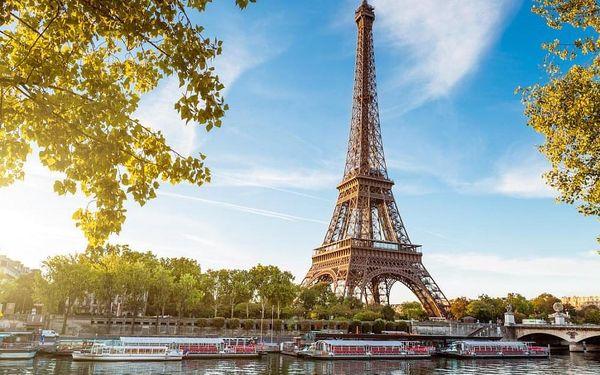 Zážitkový pobyt v Paříži a plavba po Seině 4 dny / 3 noci, 2 os., snídaně