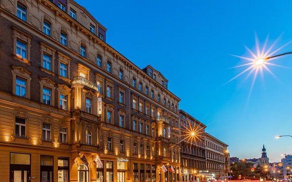 Luxus na nejvyšší úrovni: 5* hotel v centru Prahy se snídaní 4 dny / 3 noci, 2 os., snídaně