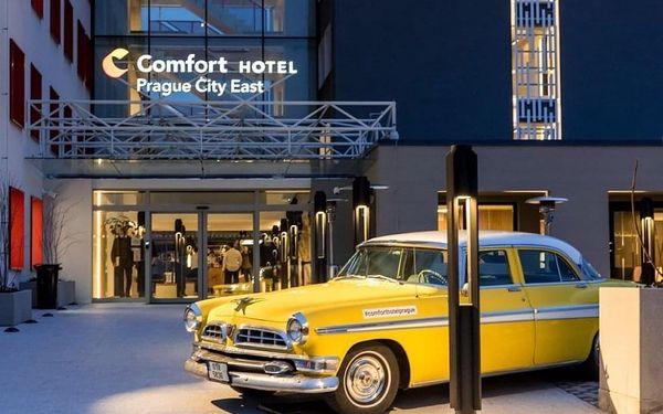 Moderní hotel se snídaní a rychlým spojením do centra 4 dny / 3 noci, 2 os., snídaně