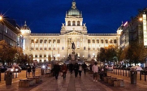 Designový hotel s nejlepším umístěním v Praze – přímo na Václavském náměstí 4 dny / 3 noci, 2 osoby, snídaně