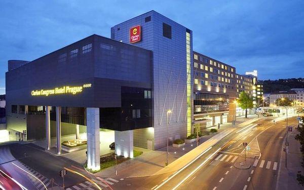 Výlet do Prahy do luxusního hotelu s TOP hodnocením 4 dny / 3 noci, 2 os., snídaně