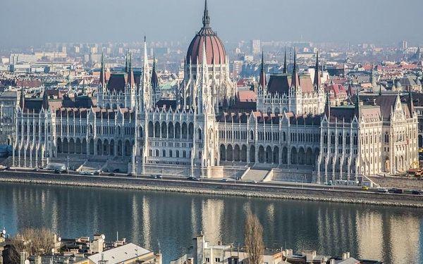 Pobyt v luxusním designovém hotelu v Budapešti 4 dny / 3 noci, 2 os., snídaně