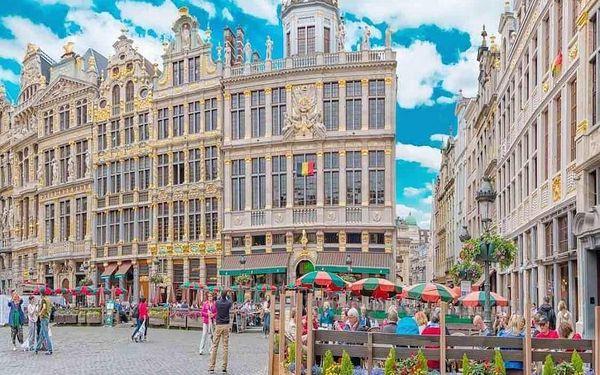 Zažijte Brusel - město bohaté na zážitky! 4 dny / 3 noci, 2 os., snídaně
