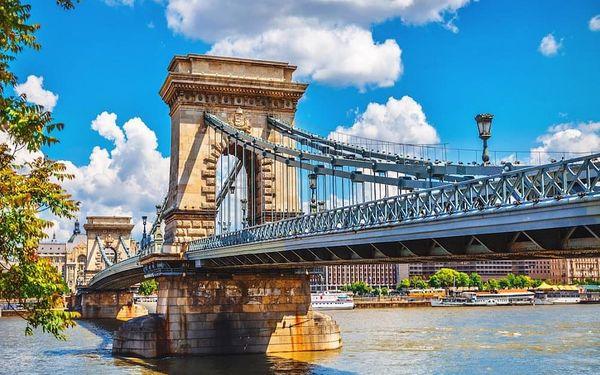 Okouzlující Budapešť a polopenze, fitness a mnoho dalšího 4 dny / 3 noci, 2 os., polopenze