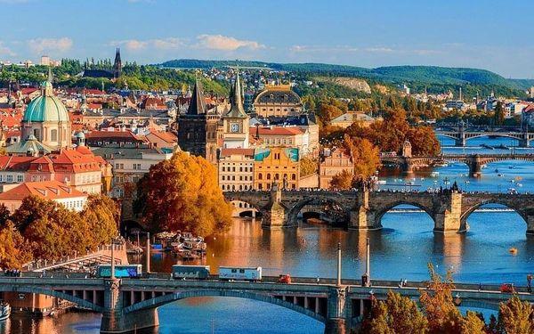 4* pobyt v Praze: prvotřídní hotel se skvělým spojením do centra 4 dny / 3 noci, 2 osoby, snídaně