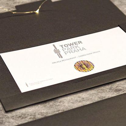 Dárkové poukazy do 3 restaurací Žižkovské věže