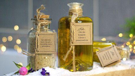 Příjemná lázeň či masáž: koupelové soli a oleje