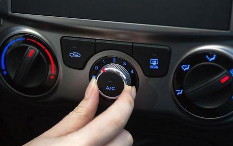 Servis klimatizace automobilu vč. testu těsnosti