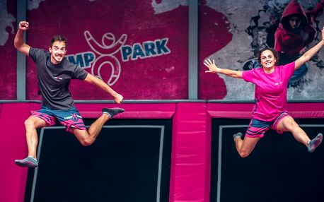 1 hod. skákání v novém JumpParku Letňany