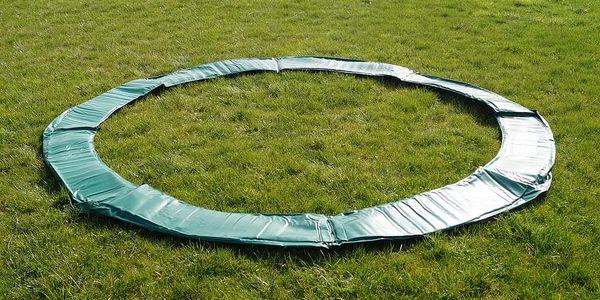 GoodJump 4UPVC zelená trampolína 305 cm s ochrannou sítí + žebřík + krycí plachta2