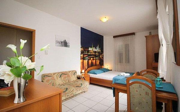 Aparthotel PALAC, Baška Voda, Chorvatsko, Baška Voda, letecky, snídaně v ceně2