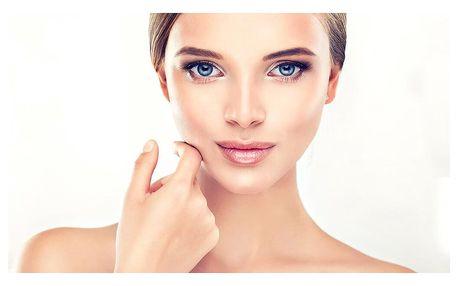 Hydratační kosmetické ošetření se světelnou terapií