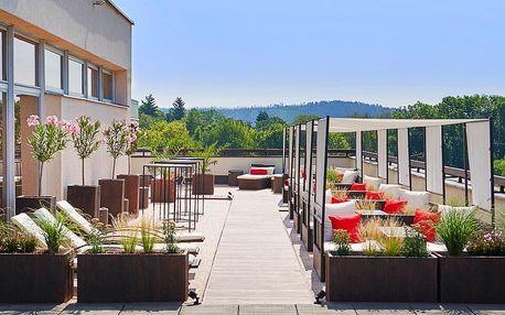 4* hotel u Brněnské přehrady s jídlem a wellness