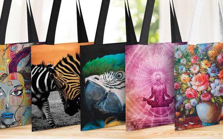 Designové tašky s jedinečným potiskem