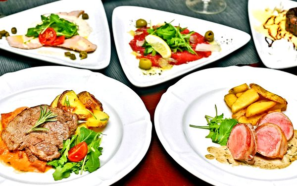 Degustační menu pro dva ve středomořské restauraci