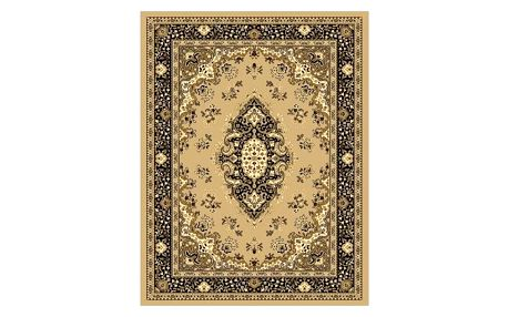 Spoltex Kusový koberec Samira 12001 beige, 120 x 170 cm