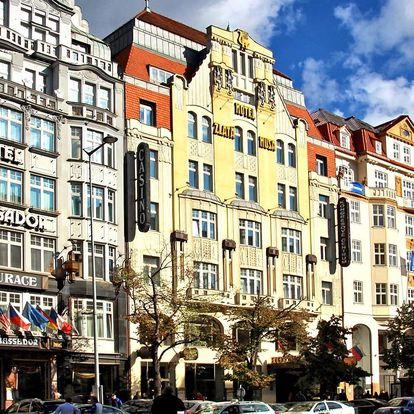 Pobyt pro dva v 5* hotelu v Praze se snídaní
