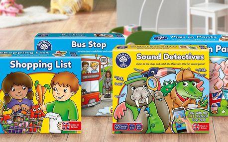 Vzdělávací hry Orchard Toys pro děti od 3 let