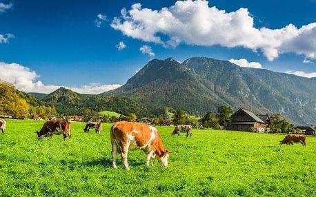 Rakouské Alpy u termálních lázní i jezera: Pobyt v Bad & Ski Pensionu *** s neomezeným wellness a polopenzí
