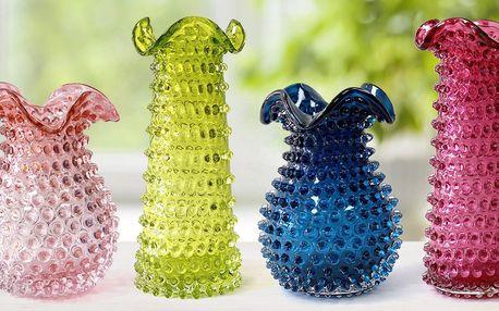 Skleněné vázy z Floriánovy hutě: čarokrásná ruční práce