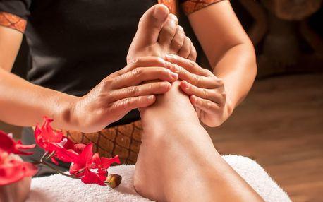 Božská masáž nohou: 30–60 minut a permanentky