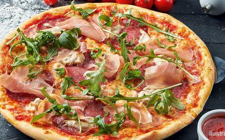 Pizza o průměru 32 cm podle výběru