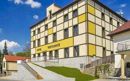 Jižní Morava u Moravského krasu: Hotel Olberg *** se snídaněmi, láhví vína a privátním wellness s vířivkou