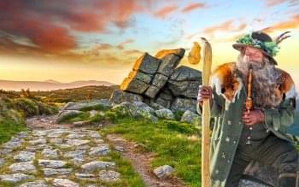 V Krakonošově království, aktivní dovolená v Harrachově s výlety, relaxací a polopenzí: 1 osoba, 4 noci3