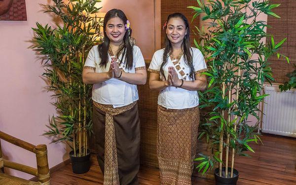 Thajská masáž a zábal dle výběru pro 2 osoby3