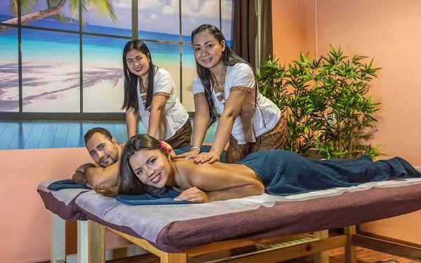 Thajská masáž a zábal dle výběru pro 2 osoby4