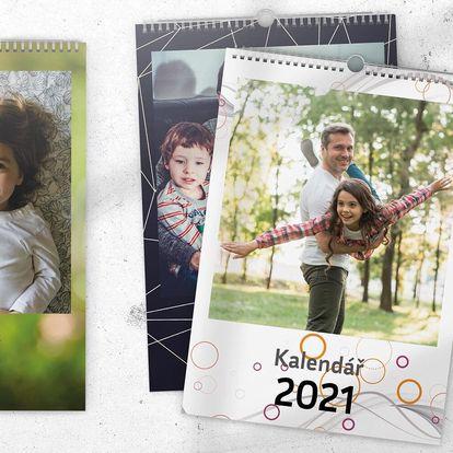 Fotokalendáře na zeď s výběrem počátečního měsíce