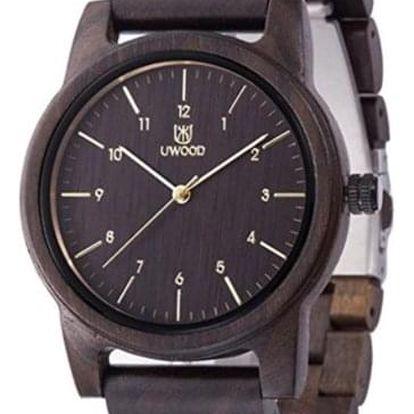 Dřevěné hodinky Uwood