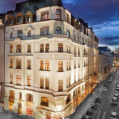 Luxusní hotel u Václavského náměstí s parkováním