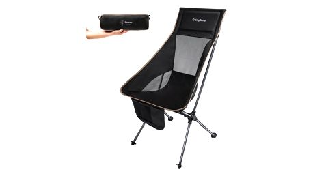 Kempingová skládací židle KING CAMP Ultra - vysoká