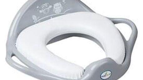 TEGA sedátko na WC měkké Sovy šedé