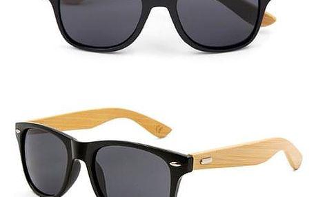 Dřevěné sluneční brýle s UV filtrem