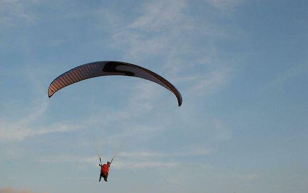 Termický let, 15-25 minut letu, počet osob: 1 osoba, Moravskoslezské Beskydy (Moravskoslezský kraj)2