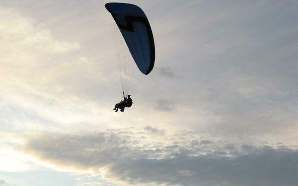 Termický let, 15-25 minut letu, počet osob: 1 osoba, Moravskoslezské Beskydy (Moravskoslezský kraj)3