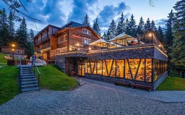 Nízké Tatry: Eko-Šport Hotel Björnson *** se stylovým wellness, lístky na lanovku, slevami a polopenzí
