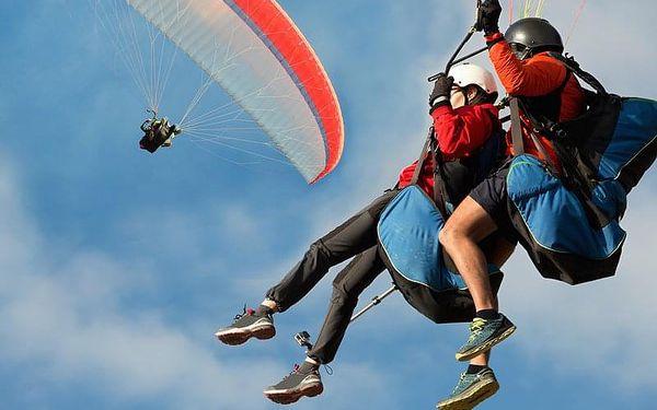 Tandem paragliding pro 2 osoby