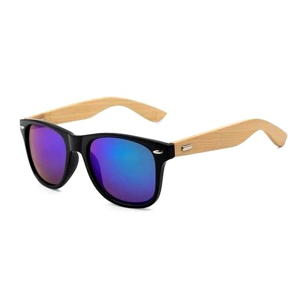 Dřevěné sluneční brýle III2
